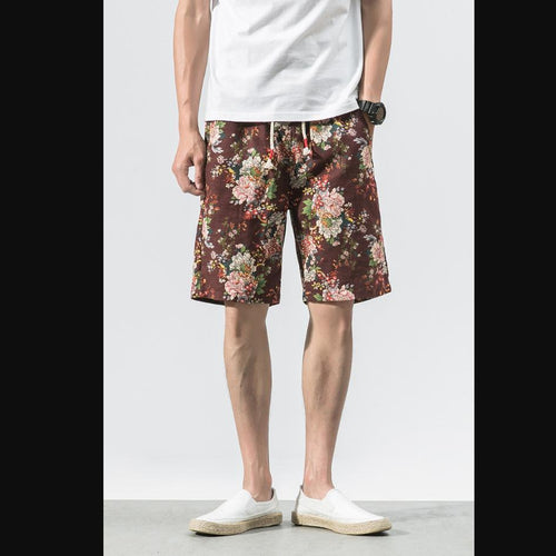 Printed Cotton Shorts 03