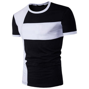 Basic Fashion  Short T-shirts Big Size