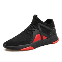Load image into Gallery viewer, Men's Tongue-Less Upper Knit Sports Shoes