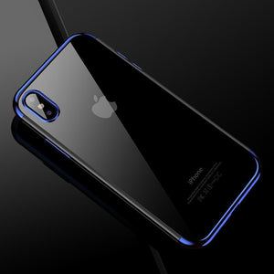 Original Fashion Transparent Soft TPU Case For Iphone 7/7Plus/8/8Plus/X