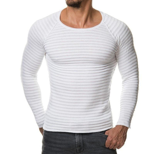 Fashion Mens  Round Neck Sweater 6 Colors