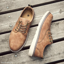 Load image into Gallery viewer, Fashion Casual England Leather Blinding Mens  Shoes