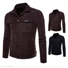Load image into Gallery viewer, Fashion Slim Fit Corduroy Jacket