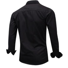 Load image into Gallery viewer, Fashion Youth Casual Slim Plain Long Sleeve Button Shirt Top