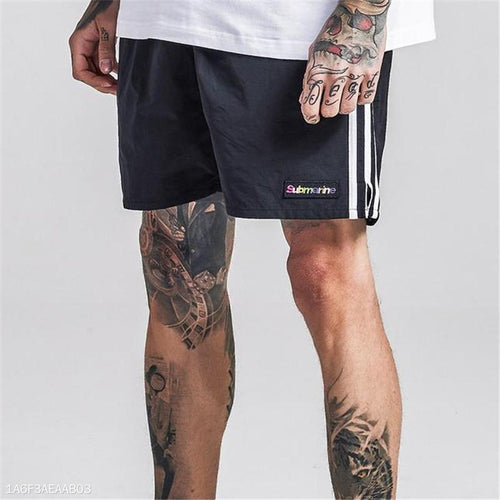 Fashion Youth Vacation Casual Sport Loose Print Short Pants