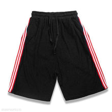 Load image into Gallery viewer, Fashion Youth Sport Casual Loose Strip Elastic Waist Short Pants
