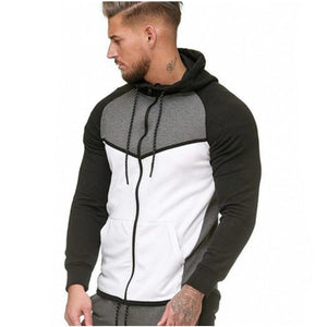 Sports Cardigan Hoodie 3 Colors