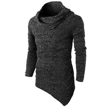 Load image into Gallery viewer, High Collar Plain Hoodie Single Pocket