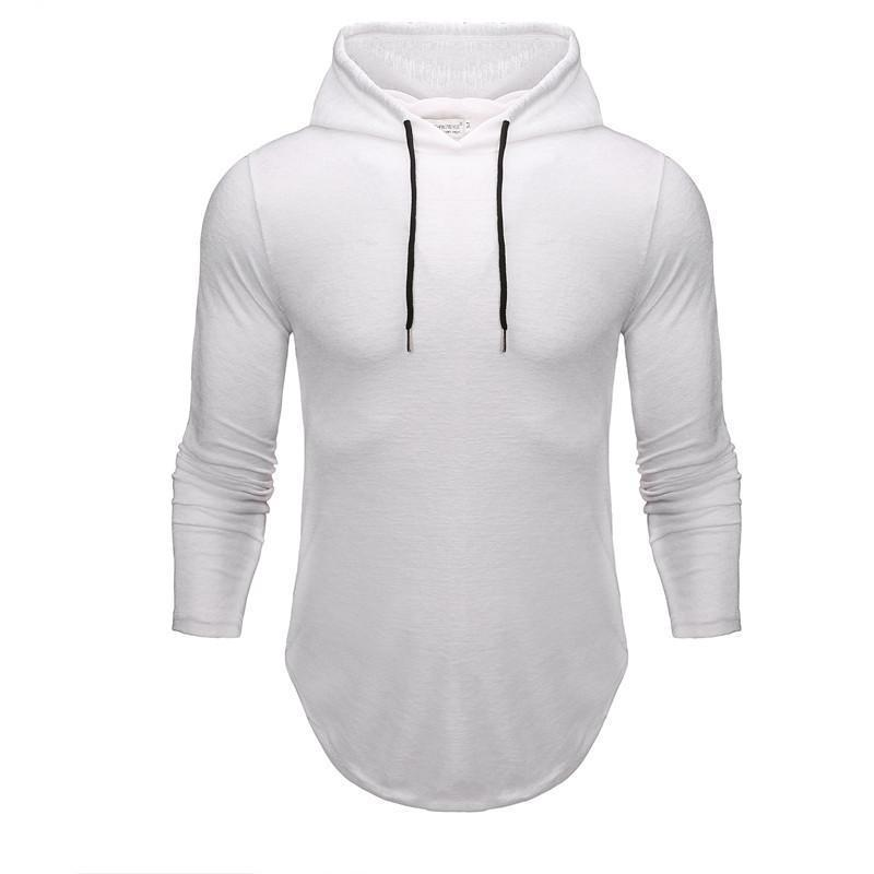 Basic Hooded Long Sleeve 5 Colors