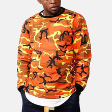 Load image into Gallery viewer, Fashion Mens Camouflage Hip-Hop Sweatshirts