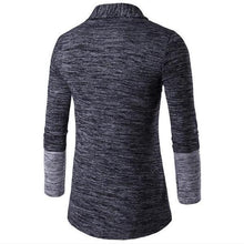 Load image into Gallery viewer, Stylish Casual Soft Thermal Color Block Long Sleeve Men Outerwear