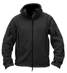 Casual Loose Plain Polar Fleece Outdoor Jacket