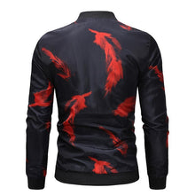 Load image into Gallery viewer, Red Feather Slim Fit Jacket