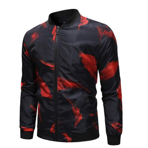 Red Feather Slim Fit Jacket