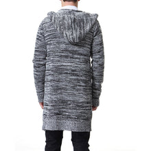 Load image into Gallery viewer, Fashion Thicken Knit Sweater Long Coat With Hat