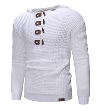 Load image into Gallery viewer, Men Wool Long Sleeve Sweater