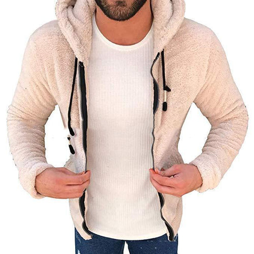 Hooded Teddy Jacket