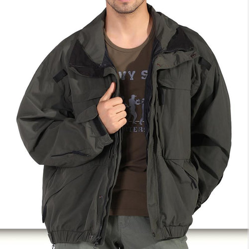 Autumn And Winter Windproof Warm Jacket