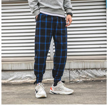 Load image into Gallery viewer, Men's Casual Pants Large Plaid   Hip Hop Pants