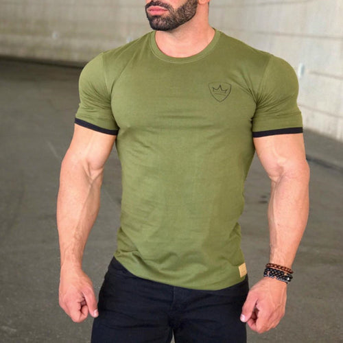Casual Sport Muscle T-Shirt