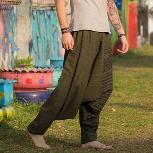 Men's Fashion Trend Vintage Harem Pants