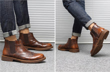 Load image into Gallery viewer, Casual Bullock Chelsea boots was   Martin boots