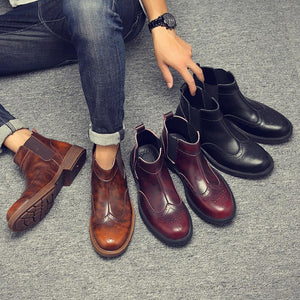 Casual Bullock Chelsea boots was   Martin boots