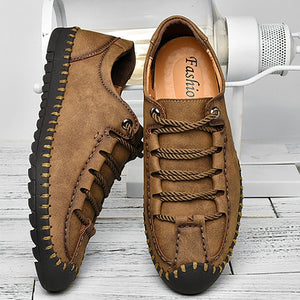 Men's large manual casual shoes