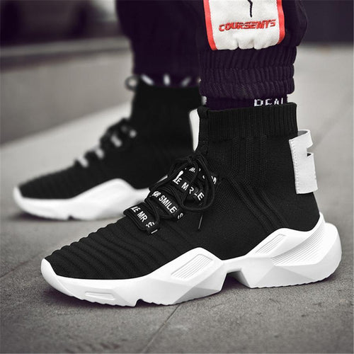 Men's casual high-top sneakers
