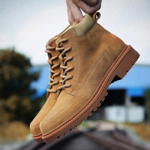 Casual Martin bullock short   Outdoor work boots