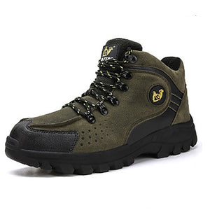 Winter men's style with velvet outdoor Anti-Slip hiking shoes