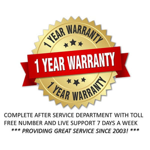 fire pit warranty badge