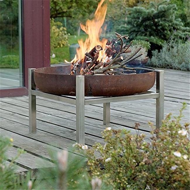 Curonian 350 Parnidis Solid Steel Wood Burning Fire Pit