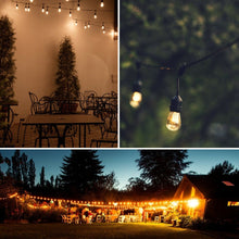 Load image into Gallery viewer, 19.5FT LED Outdoor Waterproof Globe String Lights Bulbs