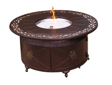 Load image into Gallery viewer, Ornate Scroll Round Bronze Fire pit table