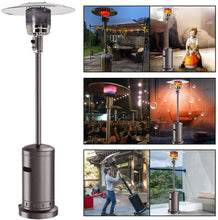 Load image into Gallery viewer, 48,000 BTU Propane Patio Heater Dark Brown or Silver Finish