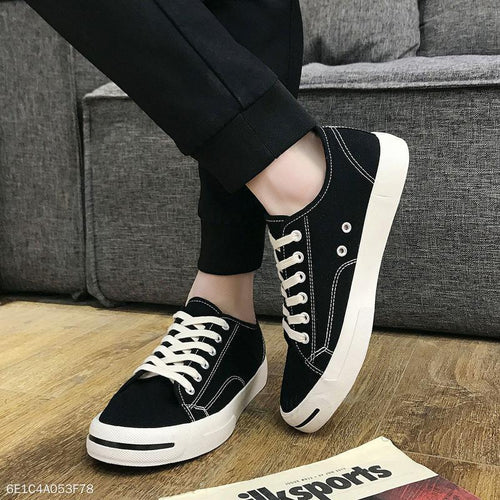 Fashion Casual Canvas Soft Sole Mens Shoes
