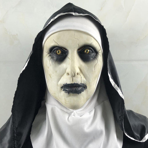 Blessed Virgin Mary Halloween Latex Mask