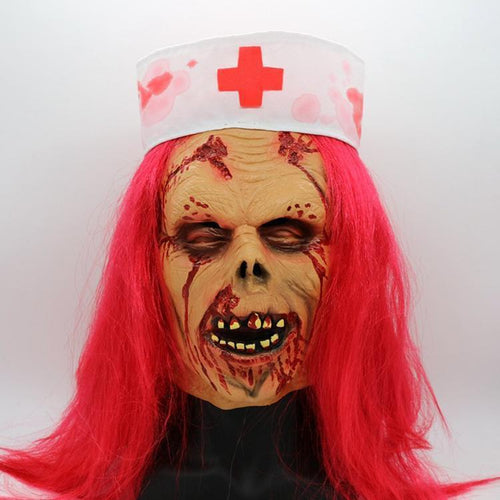 Zombie Doctor Scary Mask