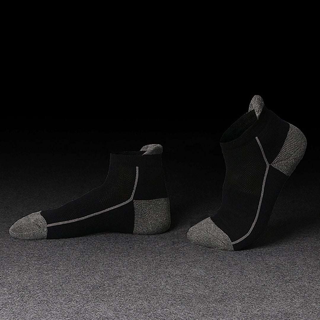 Net-eye casual thin coil sports socks