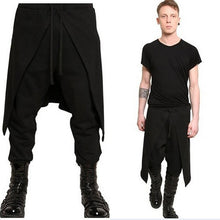 Load image into Gallery viewer, Mens Stitching Loose Harem Pants