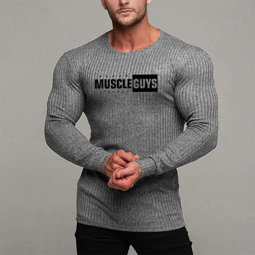 O-Neck Slim Fit Knitting Men Sweaters