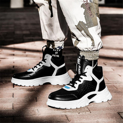 Men's Wild Casual High-Top Sneakers