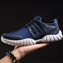 Load image into Gallery viewer, Men's sports breathable running shoes