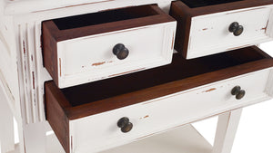 Eton 3 Drawer Side Table