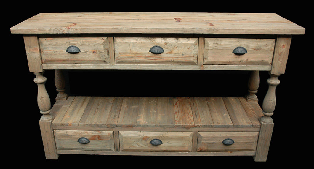 Console Table 6 Drawer