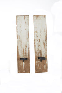 Wall Sconce/Candle Holder Distressed