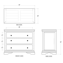 Load image into Gallery viewer, Homestead 3 Drawer Chest
