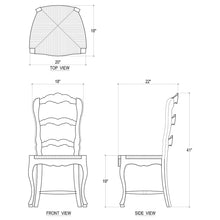 Load image into Gallery viewer, Provincial Dining Chair