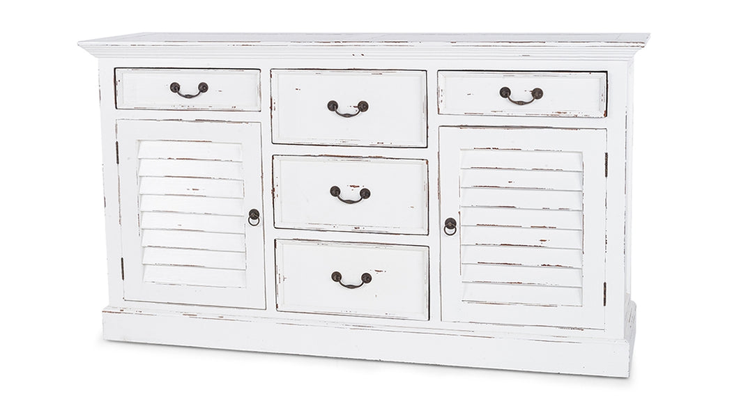 Shutter Chest with 5 Drawers